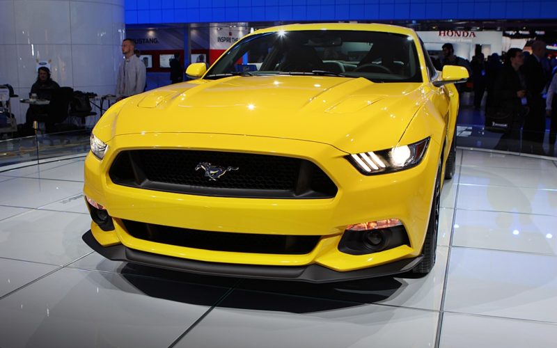 Detroit 2014 – Ford Mustang 2015