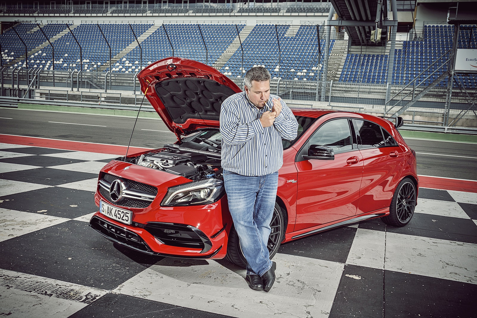 erster test 051 mercedes-amg a45 lausitzring