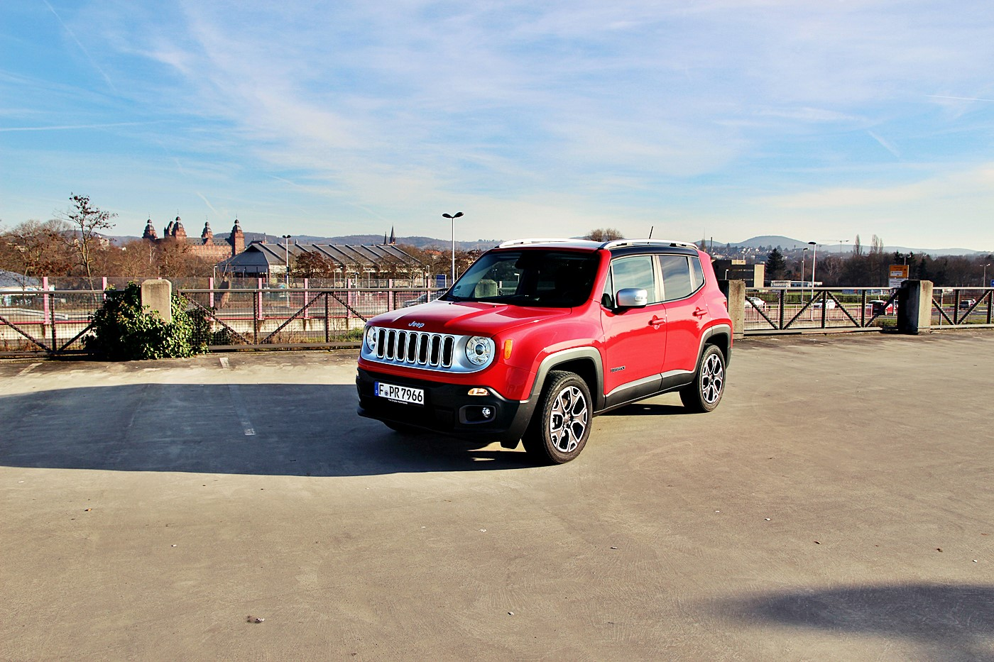 Test jeep renegade 2 0 limited for Nissan juke dauertest