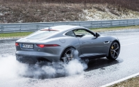 2015 #BDBB Blogger Day Bilster Berg Jaguar F-Type R Burn-Out