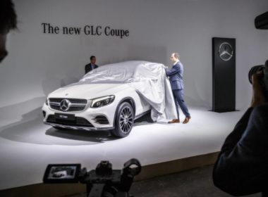 """Weltpremiere in New York: Mercedes GLC """"Coupé"""""""