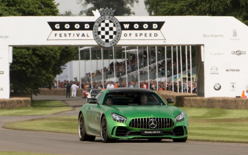 Weltpremiere AMG GT R in Goodwood