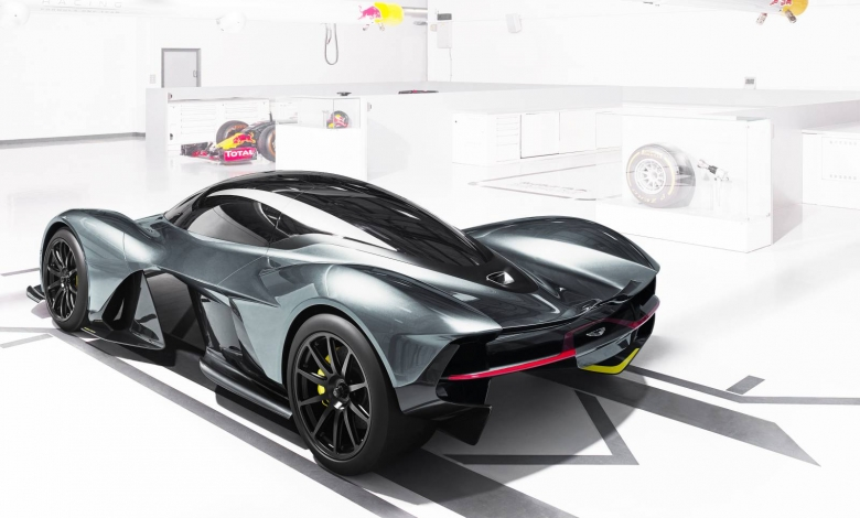 Weltpremiere Aston Martin Red Bull 006 AM-RB 001